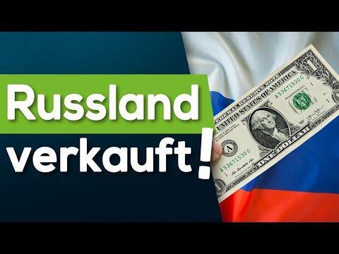 Ende des Dollar? Russland VERKAUFT!