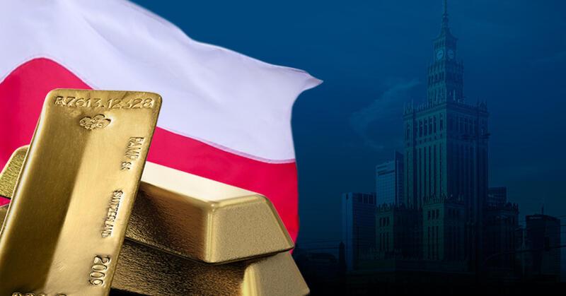 Polens Zentralbank will 2022 100 Tonnen gold kaufen