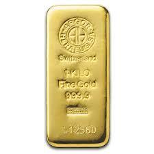 1 kilogramm  Goldbarren - Argor-Heraeus