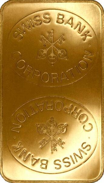 1 kilogramm  Goldbarren - Kantonalbank