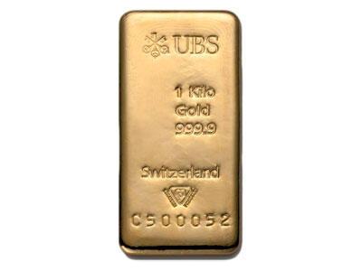 1 kilogramm  Goldbarren - UBS