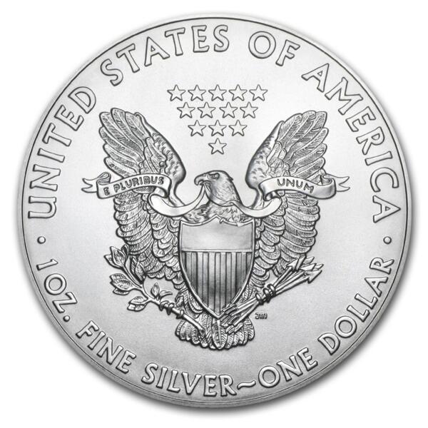 1 unze American Eagle Silbermünze - Masterbox 500 - 2014 - US Mint