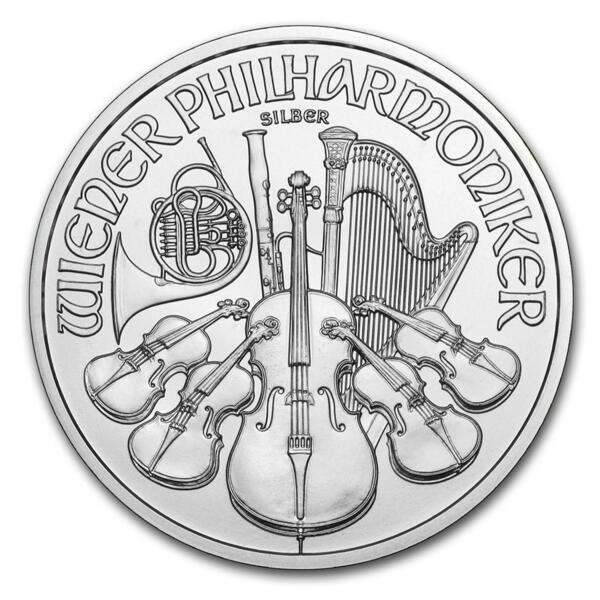 1 unze Philharmoniker Silbermünze - Masterbox 500 - 2014 - Austrian Mint