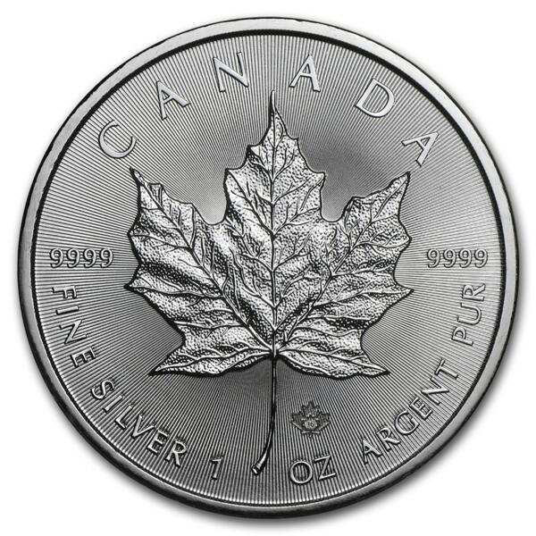 1 unze Maple Leaf Silbermünze - Masterbox 500 - 2015 - Royal Canadian Mint