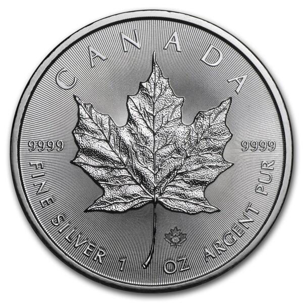 1 unze Maple Leaf Silbermünze - Masterbox 500 - 2014 - Royal Canadian Mint
