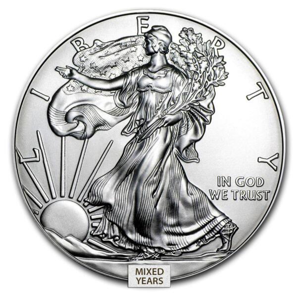1 unze American Eagle Silbermünze - US Mint