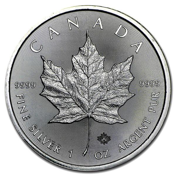 1 unze Maple Leaf Silbermünze - Royal Canadian Mint