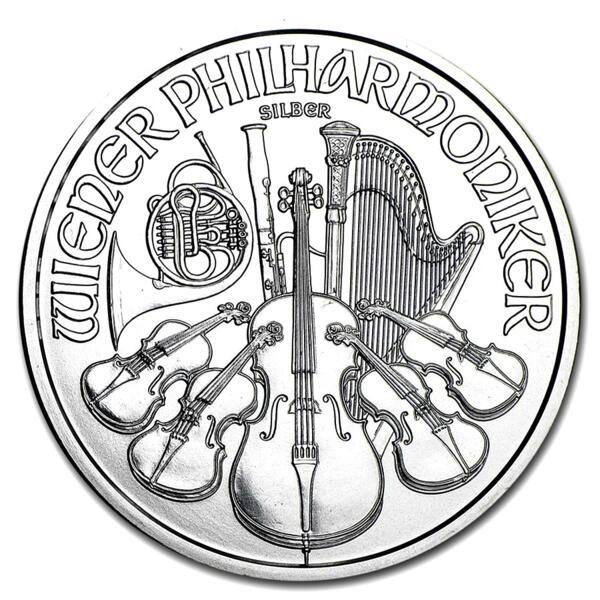 1 unze Philharmoniker Silbermünze - Austrian Mint