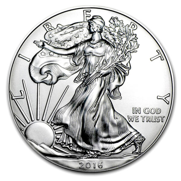 1 unze American Eagle Silbermünze - Masterbox 500 - 2016 - US Mint