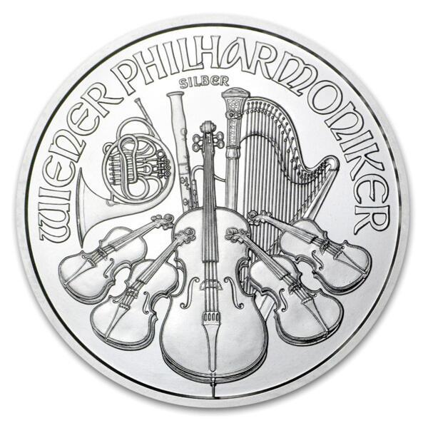 1 unze Philharmoniker Silbermünze - Masterbox 500 - 2015 - Austrian Mint
