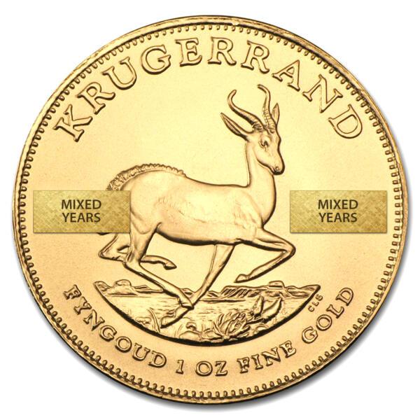 1 unze Krügerrand Goldmünze - South African Mint