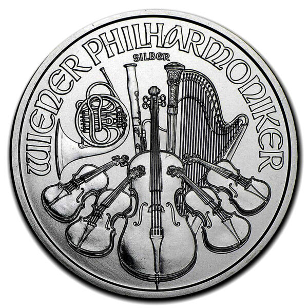 1 unze Philharmoniker Silbermünze - Masterbox 500 - 2016 - Austrian Mint