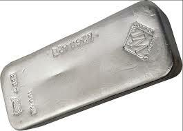 1000 unzen  Silberbarren - Johnson Matthey