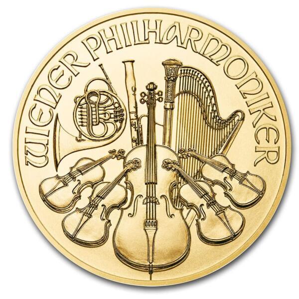 1 Unze Gold Wiener Philharmoniker - 10er Pack - 2020 - Austrian Mint