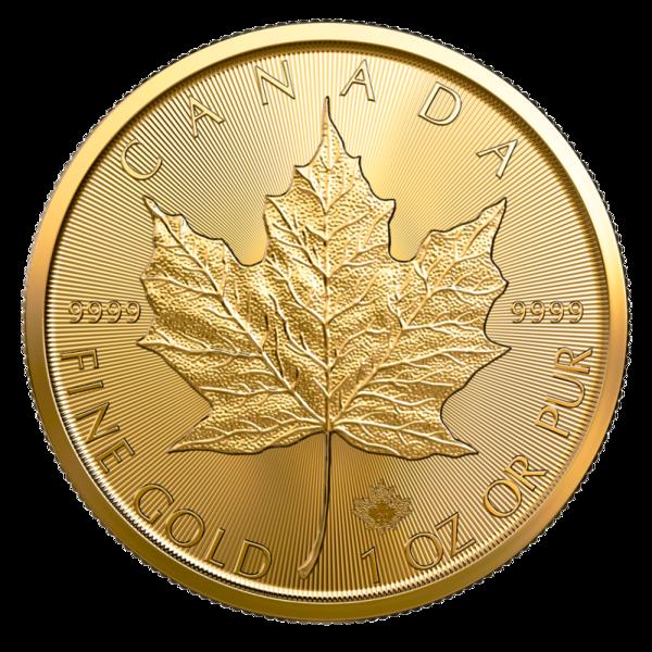 1 Unze Gold Maple Leaf - 10er Pack - 2020 - Royal Canadian Mint