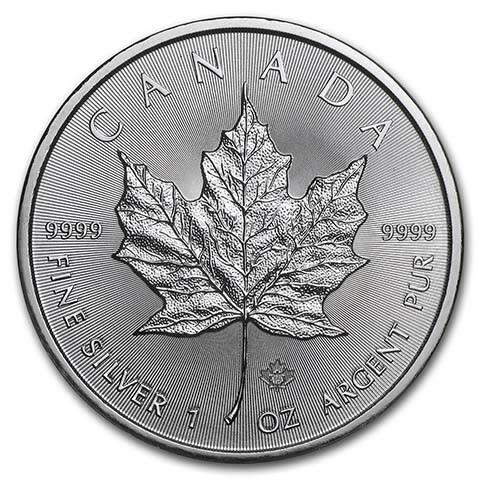 1 Unze Silber Maple Leaf - Monsterbox mit 500 Stück - 2020 - Royal Canadian Mint