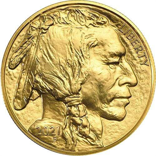 1 Unze Gold Buffalo - 10er Pack - 2021 - US Mint