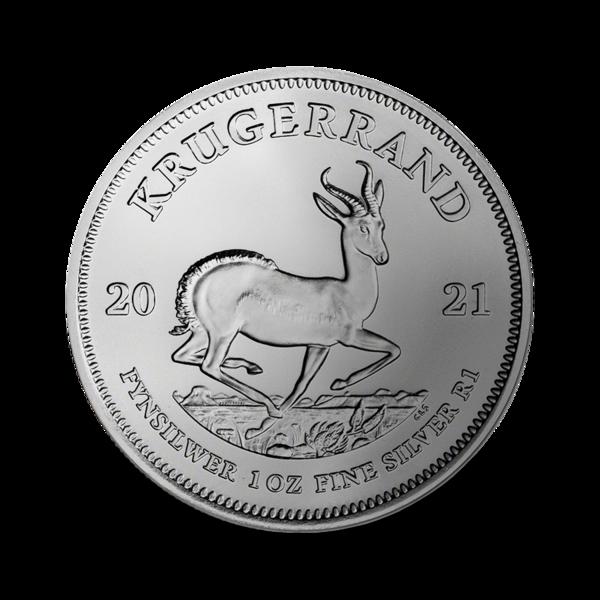 1 Unze Silber Krugerrand - Monsterbox mit 500 Stück - 2021 - South African Mint