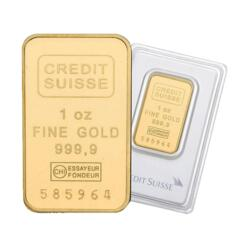 1 ounce  Gold Bar - Crédit Suisse