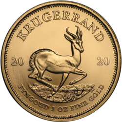 1 Unze Gold Krügerrand - 10er Pack - 2020 - South African Mint
