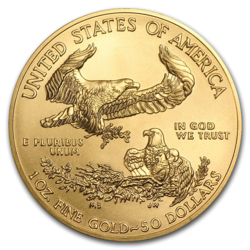 1 Unze Gold American Eagle - 10er Pack - 2020 - US Mint