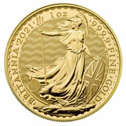 1 Unze Gold Britannia - 10er Pack - 2021 - The Royal Mint