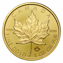 1 Unze Gold Maple Leaf - 10er Pack - 2021 - Royal Canadian Mint