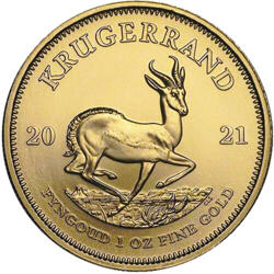 1 Unze Gold Krügerrand - 10er Pack - 2021 - South African Mint
