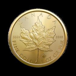 1 Unze Gold Maple Leaf - 10er Pack - 2021 - Royal Canadian Mint